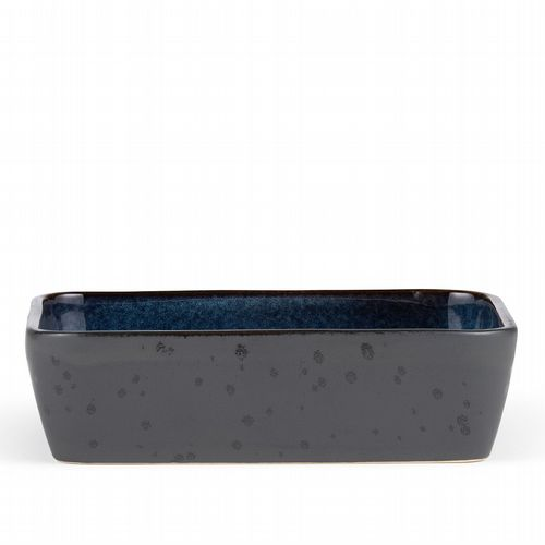 Stoneware - Oven Dish - Dark Blue & Black